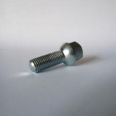 Болт колесный М12х1.5х35 мм. Сфера. Цинк. Ключ 17