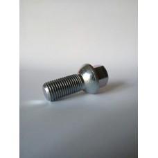 Болт колесный М14х1.5х28 мм. Сфера.  Цинк. Ключ 17.