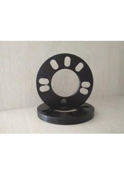 Проставки на колеса - универсальные 5 мм (4*98 - 5*120)